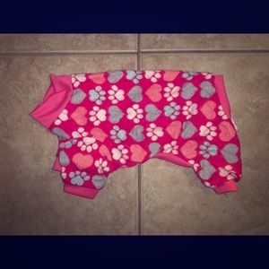 XS Paw Dog Pajamas